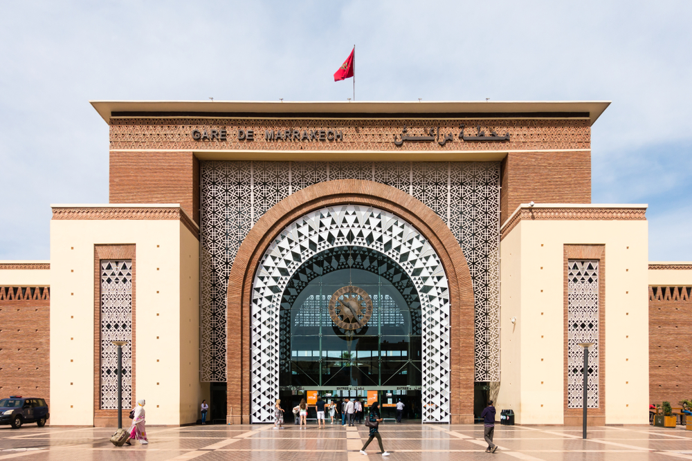 Gare ferroviaire de Marrakech